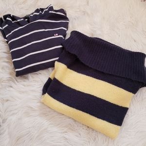 🆕️3/$30❣Stripe Hoody and Sweater Bundle